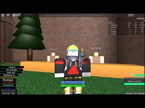Roblox Infinity RPG Ep 1 Road to High Level (Tkiljoy's View