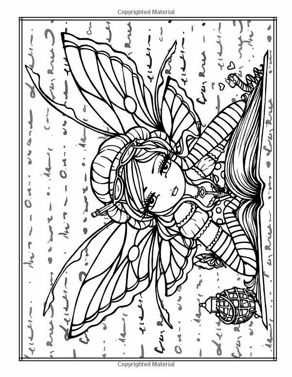 Pixie Coloring Page | Free Printable | Fairy coloring ...