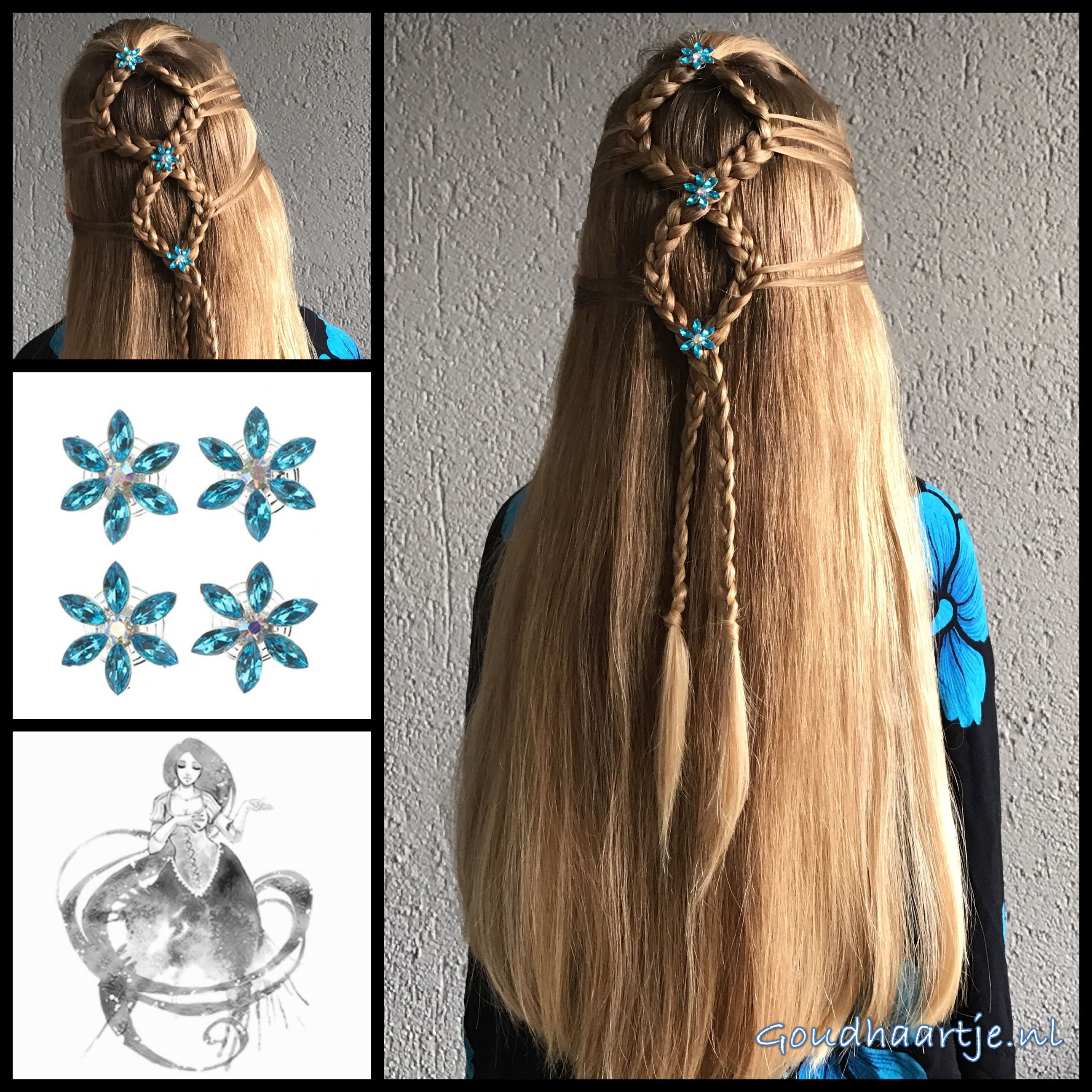 Simple hairstyle with gorgeous curlies from the webshop