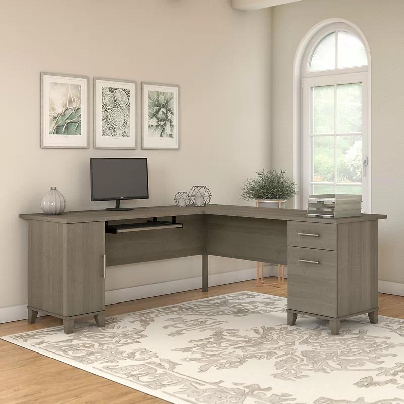 Kirchoff Reversible L Shape Desk In 2020 L Shaped Desk Cheap Office Furniture Furniture