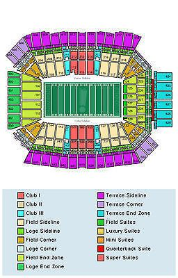 Lucas Oil Stadium Seat Map Fyi Redskins Tickets Chiefs