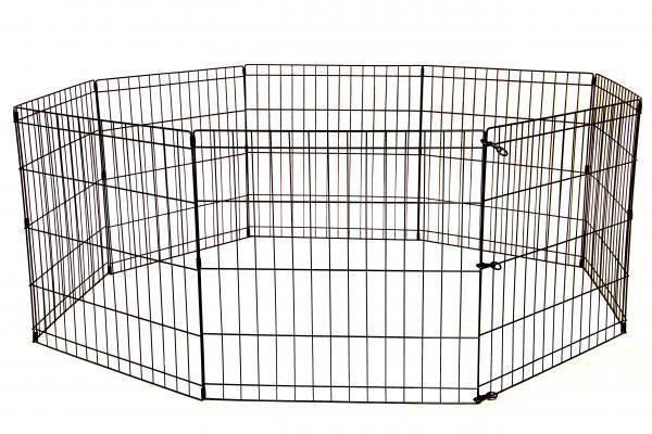 Dog Playpen Small Large Portable Exercise Pen Metal Indoor Outdoor  Enclosure FREE SHIPPING