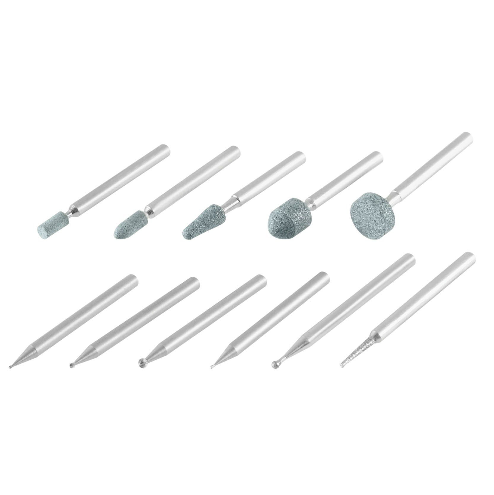 Dremel 689 01 11 Piece Rotary Tool Carving And Engraving Kit Dremel Bits Dremel Accessories Dremel Carving