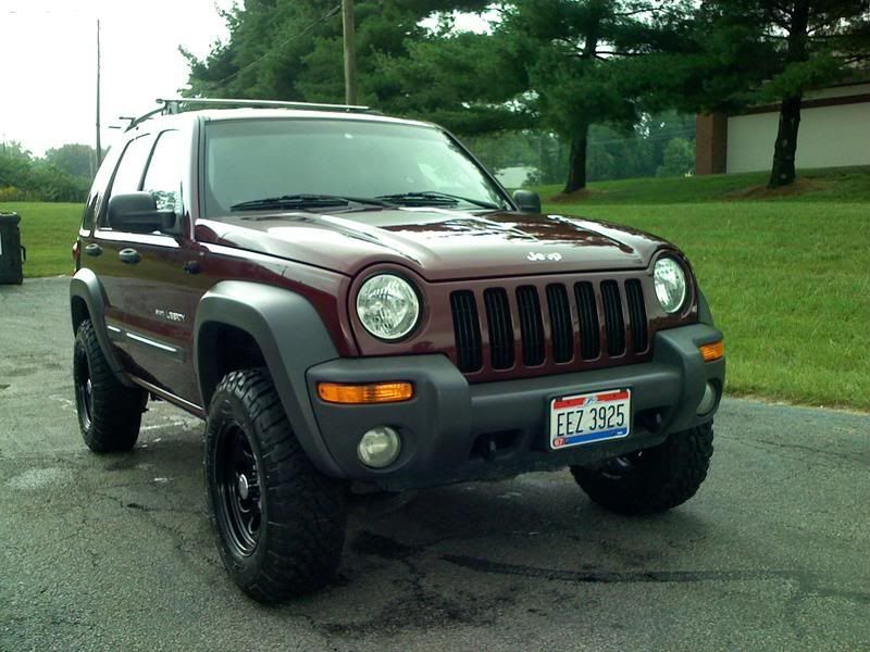 02 Jeep Liberty LOST Trail Tested Edition Jeep Liberty