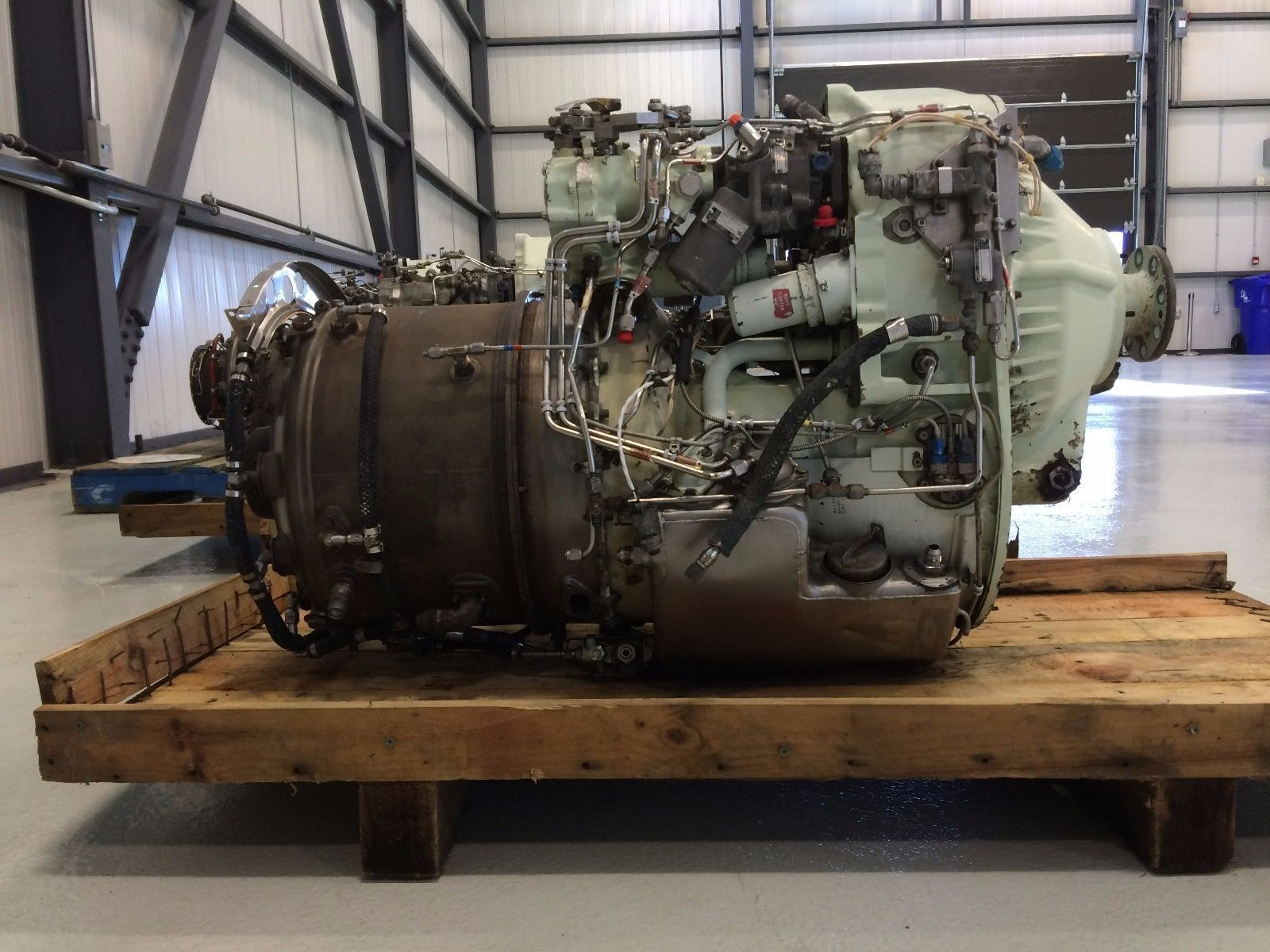 Garrett airesearch tpe 331 aircraft turboprop gas turbine qty 3