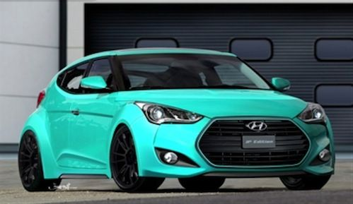 For those who fancy funky rides, the 2015 Hyundai Veloster Turbo is