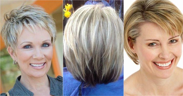 Coupe de cheveux femme 50 ans 30 id es pleines de confiance et classe - Femme blonde photo ...