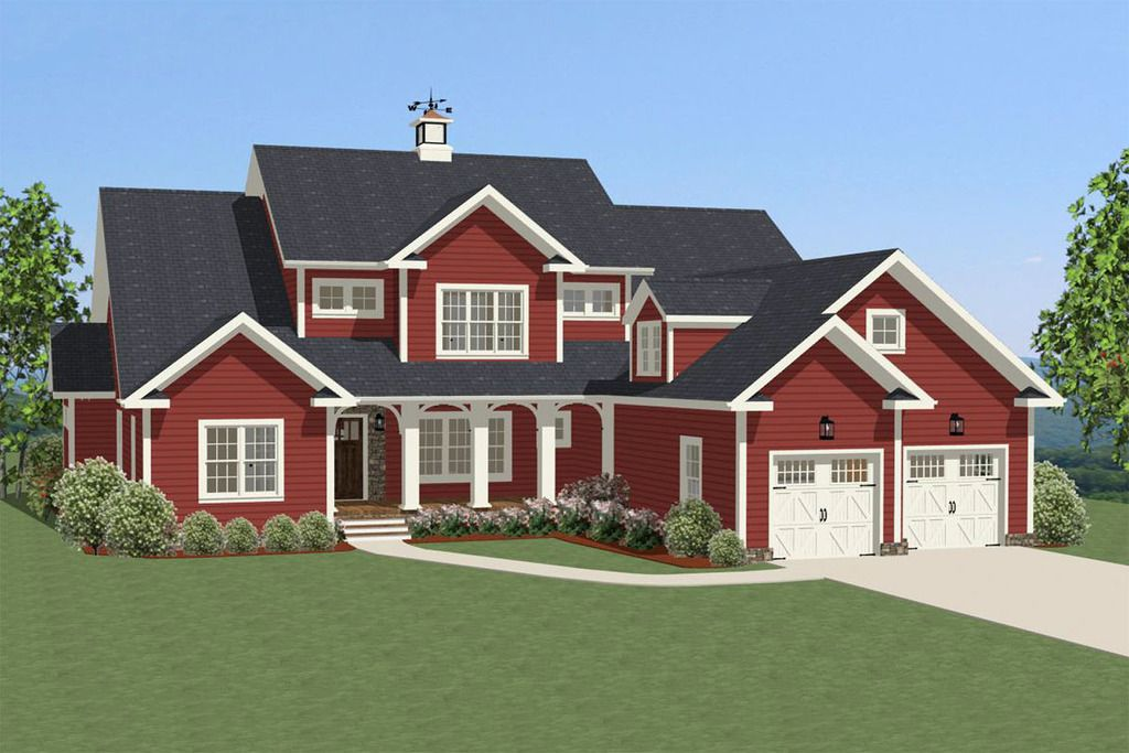 Traditional Exterior Front Elevation Plan 89819 For