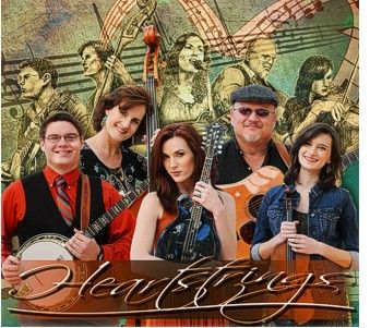 Trinity River Band Getting Lots of Chart Action with Heartstrings - http://www.cybergrass.com/node/4841