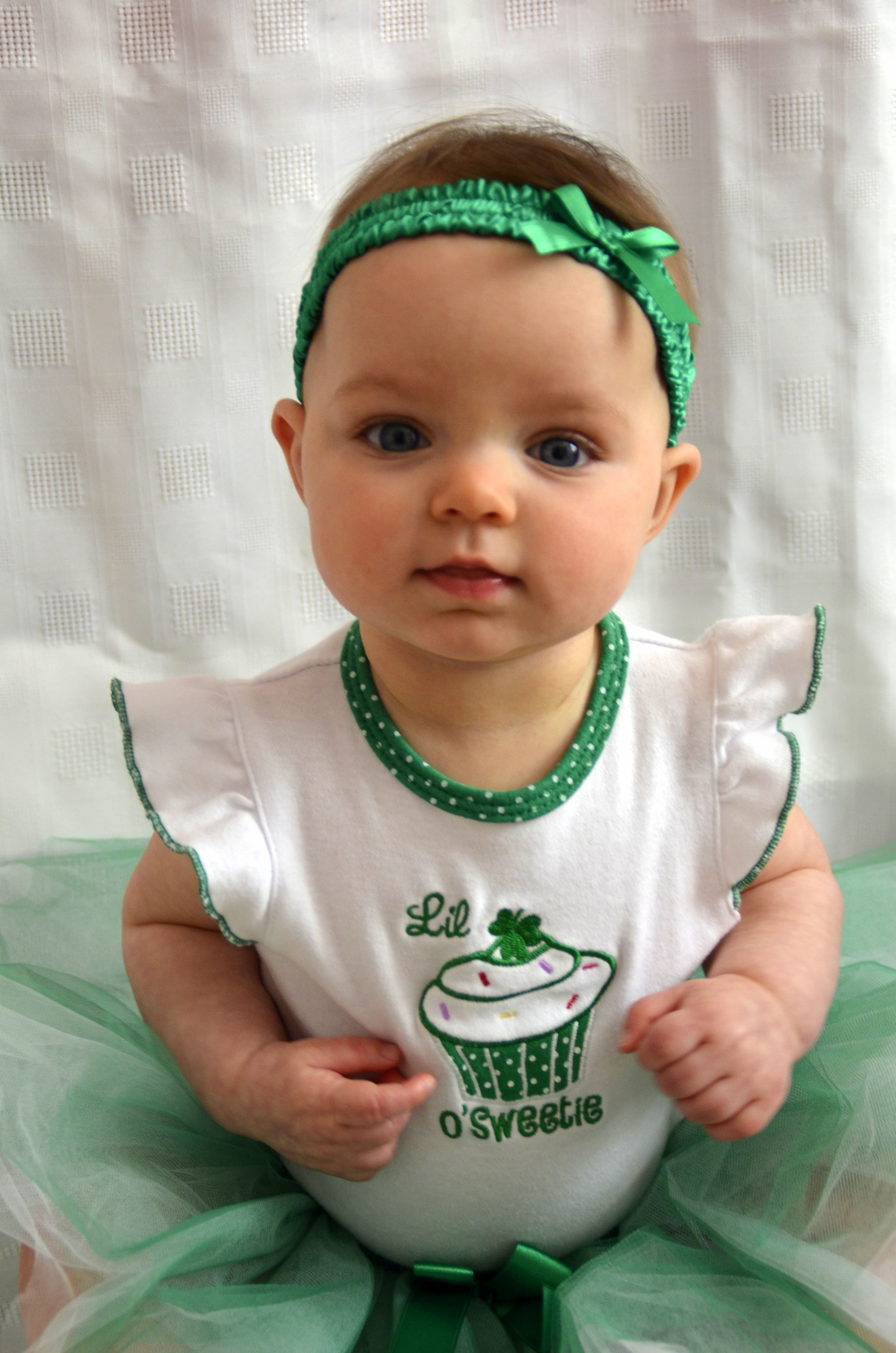 Ava's St. Patrick's costume. Lindsey Curtis