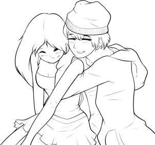 How To Draw A Boy And Girl Step By Step Anime People Anime Draw Japanese Anime Draw Mang Boy And Girl Drawing Coloring Pages For Boys Anime Drawing Styles
