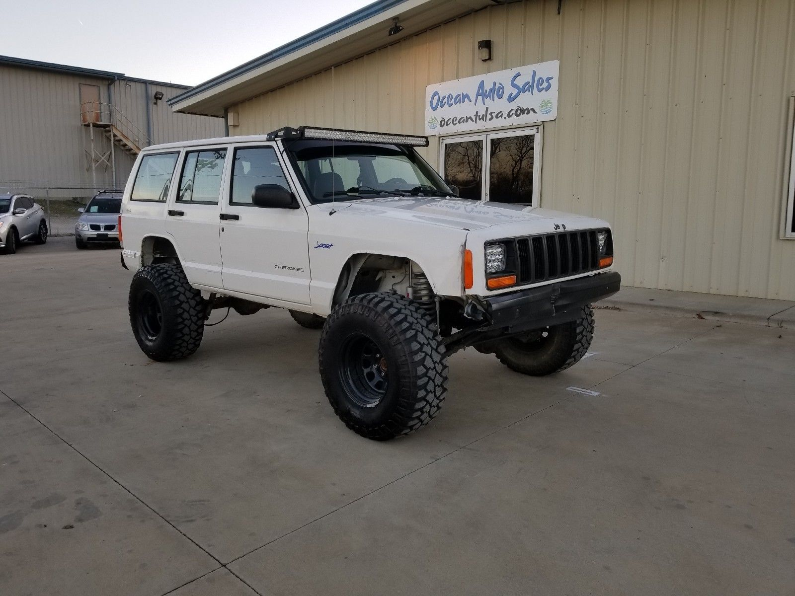 1997 Jeep Cherokee Sport 1997 Jeep Cherokee Sport 4x4 No Reserve