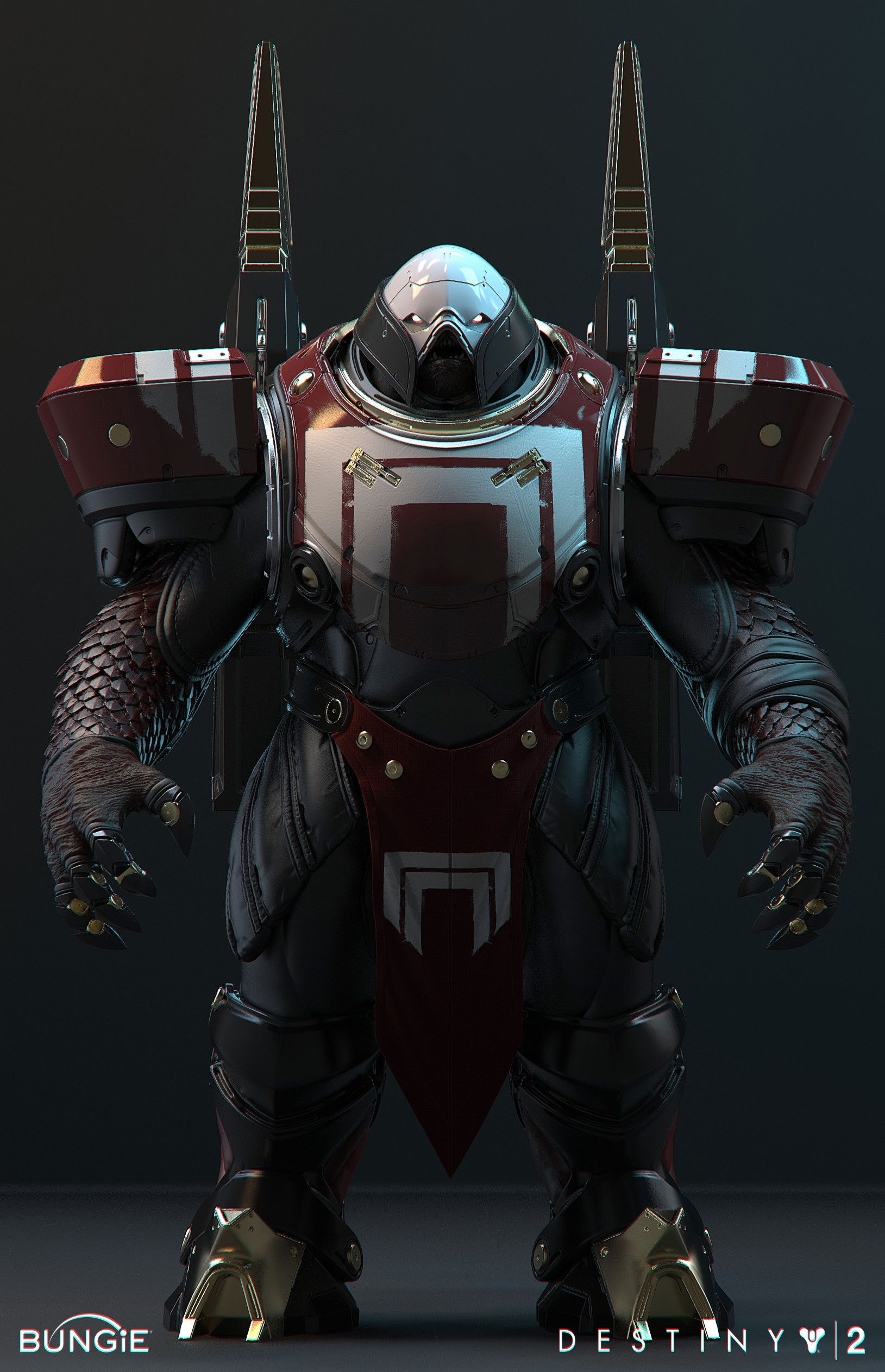Cabal Red Legion Centurion Minecraft Skin | Destiny | Destiny