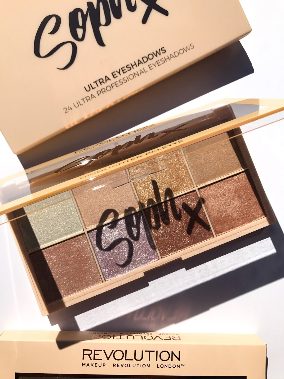 Makeup Revolution SophX Highlighter Palette (с