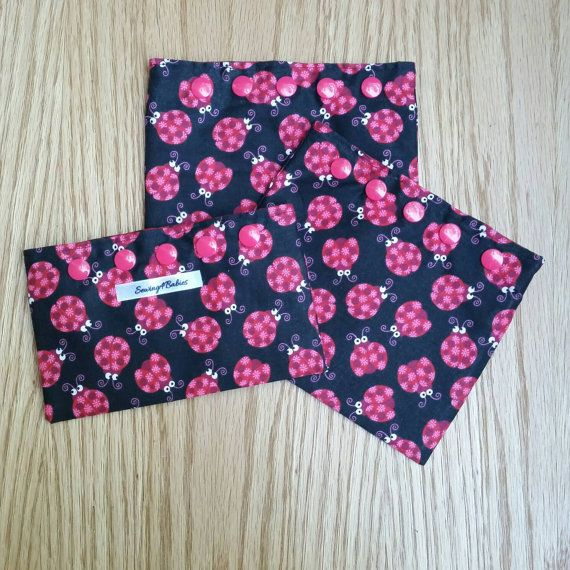 Reusable snack/sandwich bags  3 piece set  by Sewing4Babies