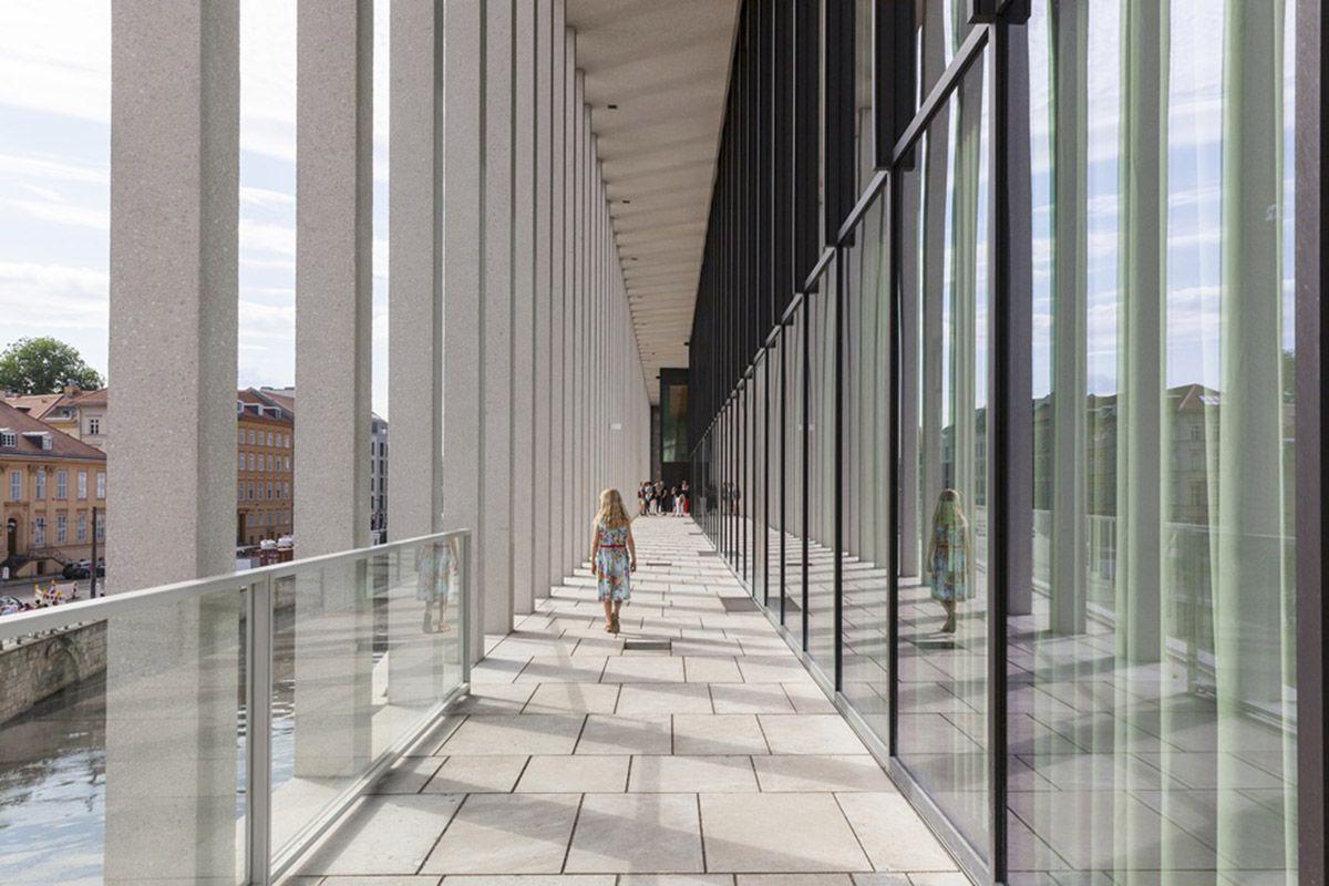 David Chipperfield Architects Opens James Simon Galerie On Berlin S Museum Island David Chipperfield Architects Architect Museum Island