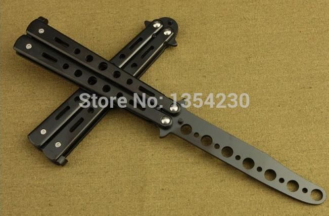 Free delivery - Practice Butterfly Knife Trainer's Safety