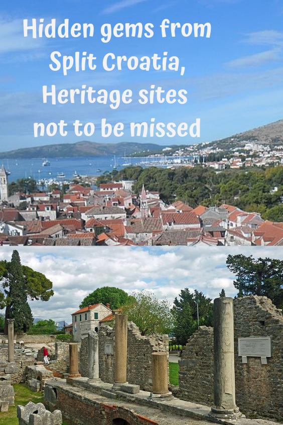 16 Must See Attractions At The Roman Ruins In Salona And The Unesco World Heritage Site At Trogir Image Wiki Croatia Sp Croatia Croatia Travel Trogir Croatia