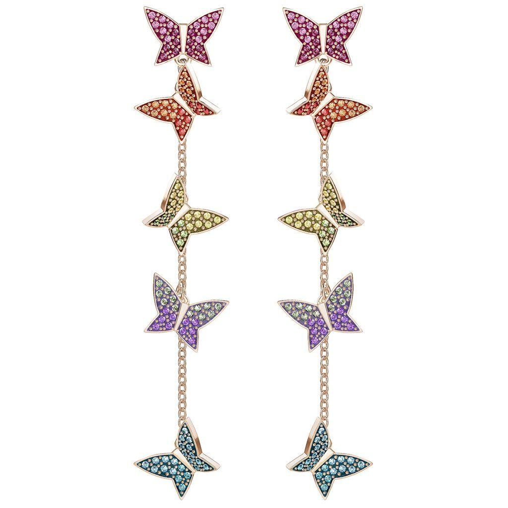 80dd0201f Swarovski Lilia Pierced Earrings, 5378693 | Duty Free Crystal | Duty Free  Crystal