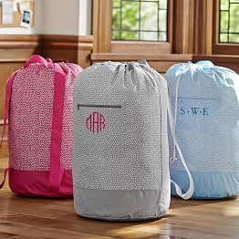 Drawstring Bags Monogrammed Laundry Bags Cute Laundry Bags