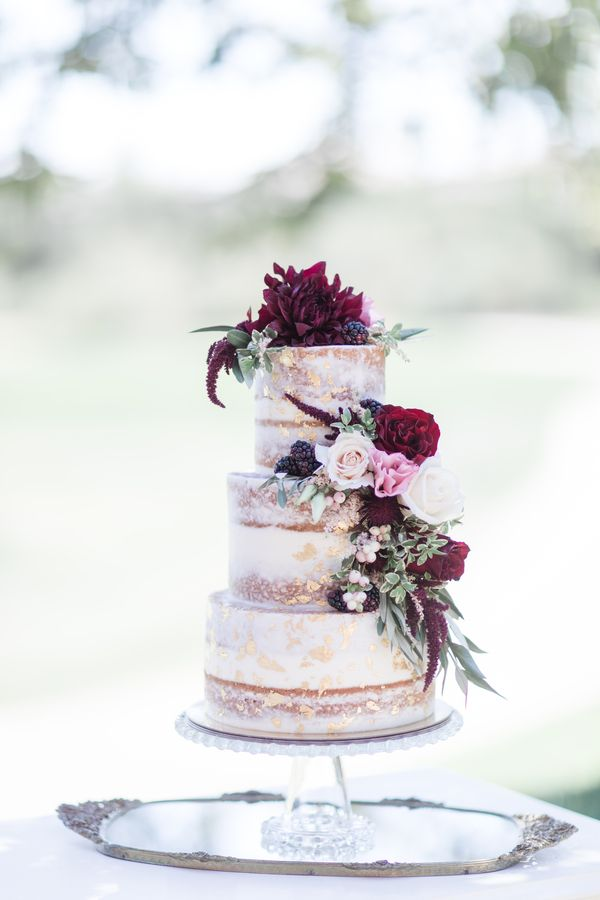 Glam Burgundy Amp Blush Vintage Wedding Inspiration