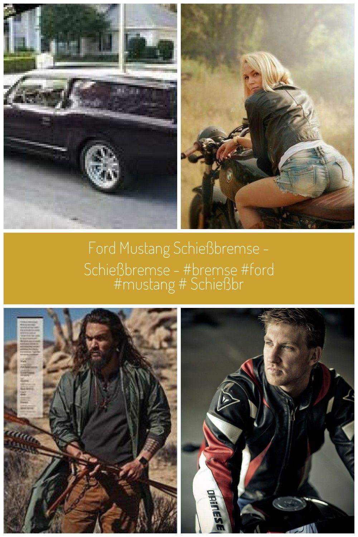 Ford Mustang Schießbremse - Schießbremse - Schießbr ... - Motorrad - shooting Ford Mustang Schi