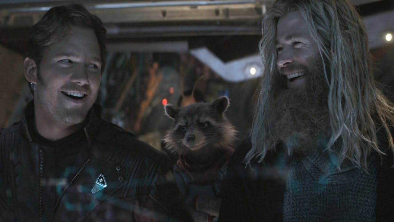 Avengers Endgame / Thor and Star-Lord Scene (Everybody Knows Who's In Ch... | Star lord, Guardians of the galaxy, Thor