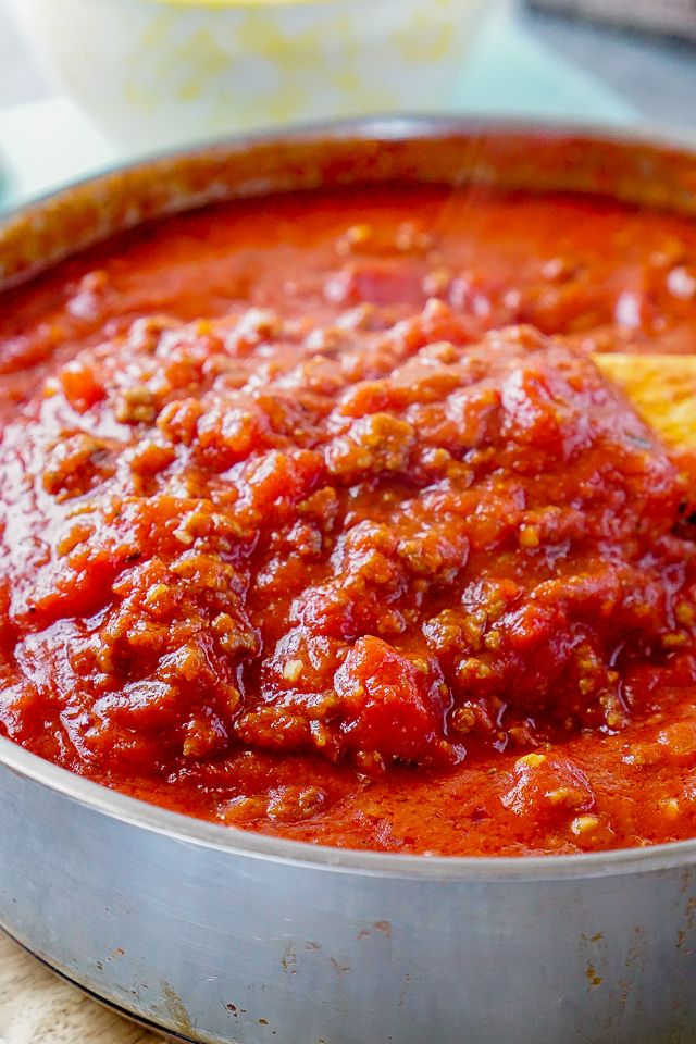 The Best Meat Sauce Ever | Recipe | Easy recipes, The o ...