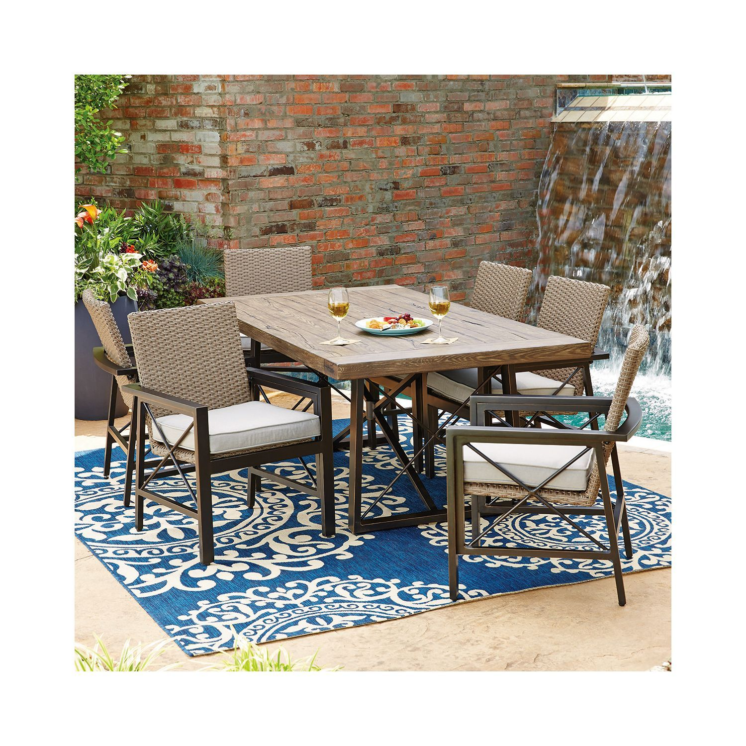 Member s Mark Katana 7 Piece Dining Set