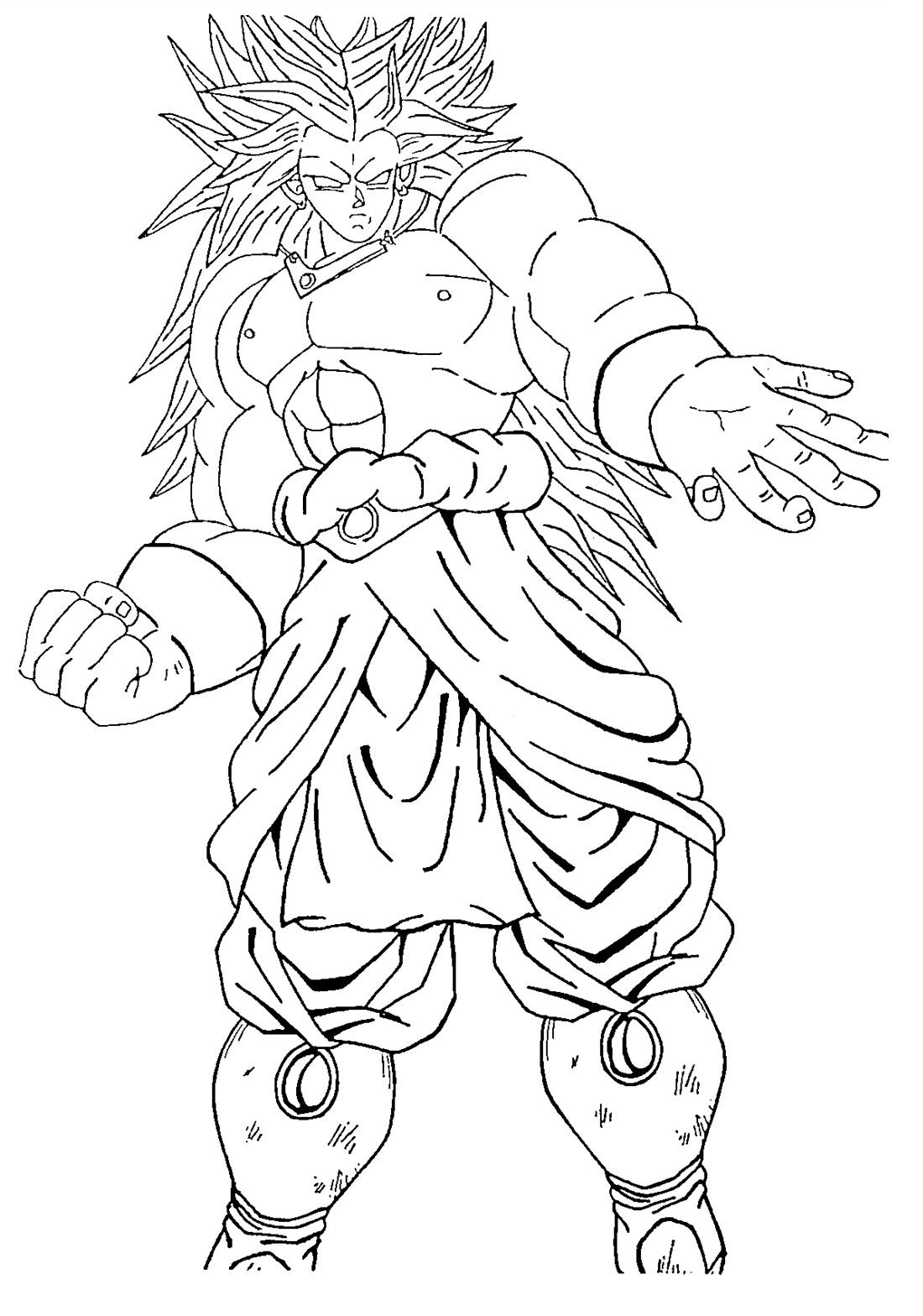 Broly SSJ3  Personajes Dragon Ball ZGTSuper  Pinterest  Goku