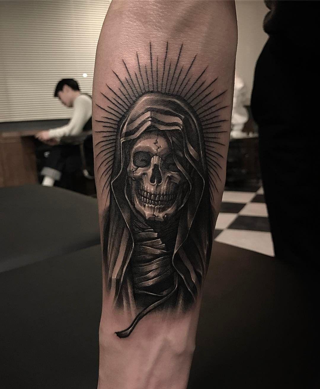 17+ Best Grim reaper tattoo symbolism image HD