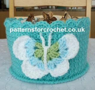 pfc227- Mulit use bowl crochet pattern