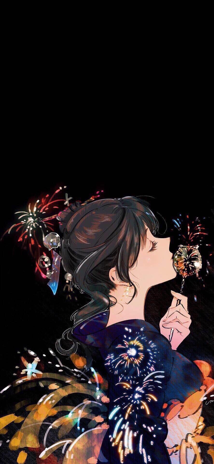 Beautiful Anime Kimono Anime Anime Wallpaper
