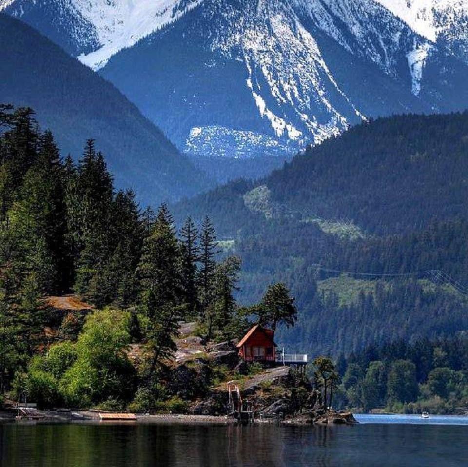 Anderson Lake, British Columbia — with Ramesh Kumar.