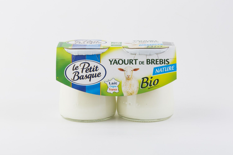 Yaourt de Brebis BIO Nature Le Petit Basque packshot