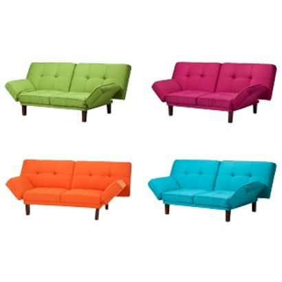 One Of These Bright Hued Futons Would Bring A Fun Pop Color To The E