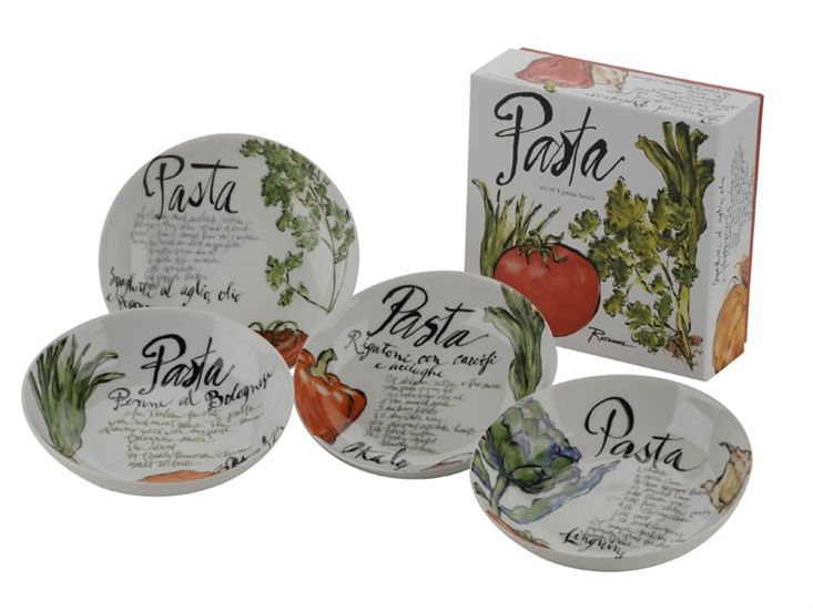 Rosanna Pasta Italiana Bowls Beautifully designed series of pasta ...