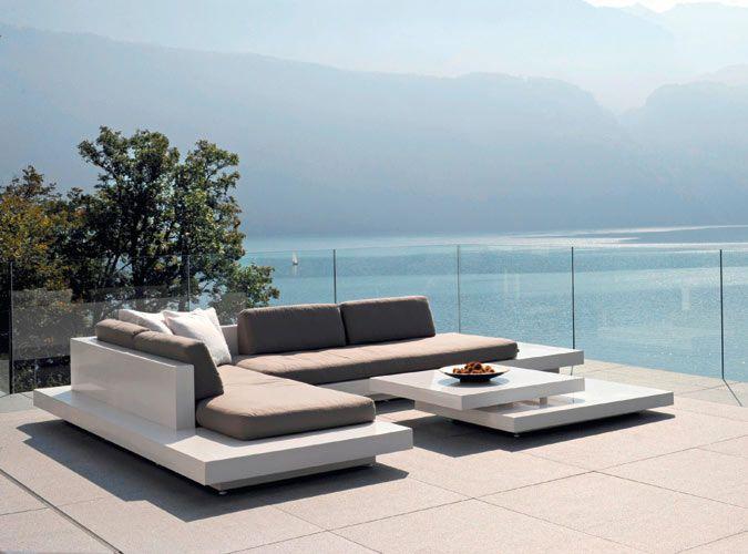 Rausch Platform Outdoor Sectional Sofa The Sleek