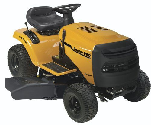 Poulan Pro Pb145g38 6 Speed Lawn Tractor 38 Inch Lawn Mower