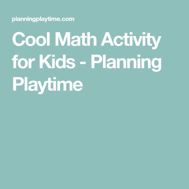 Cool Math Activity for Kids | Math activities, Math and Activities