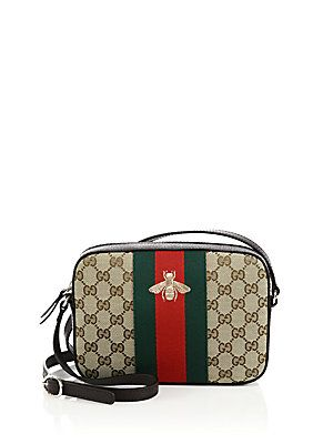 96eeacf64c81 Gucci Original GG Canvas Shoulder Bag with Bee