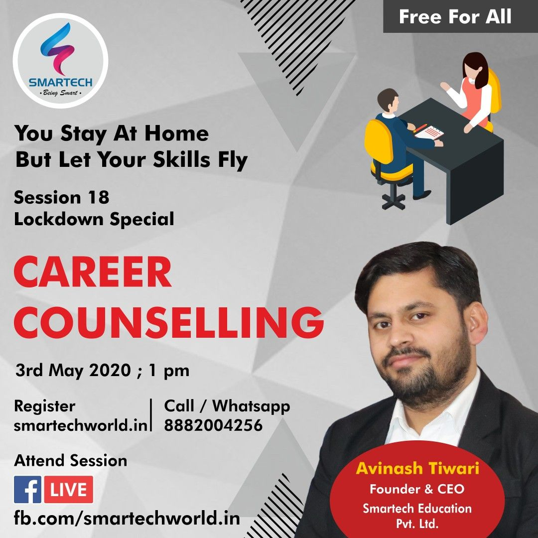Career Counselling Lockdown Special Session No 18 Career Counseling Counseling Best Careers