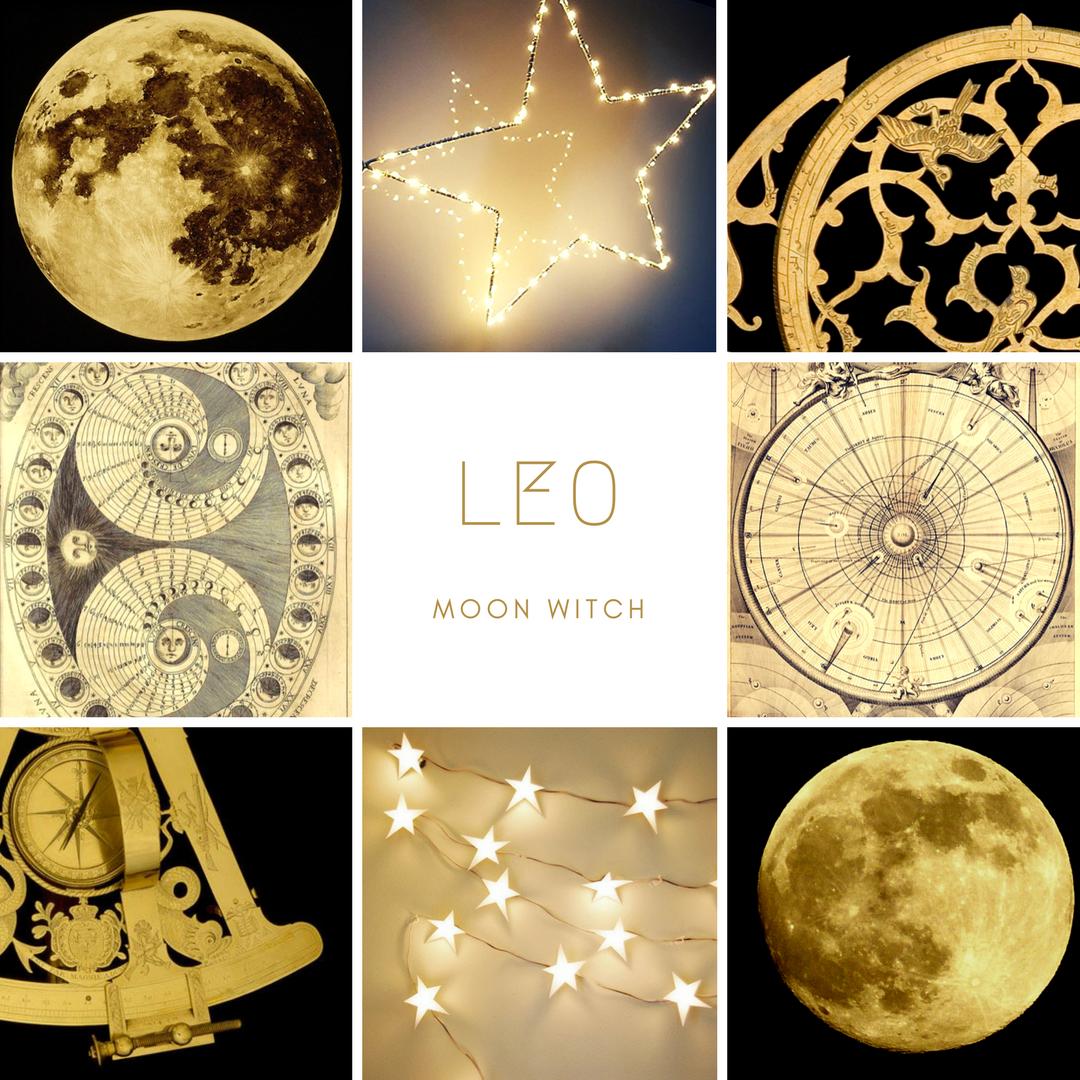12 Witchy Zodiac Mood Boards Zodiac Lunar Witch Moon Witch