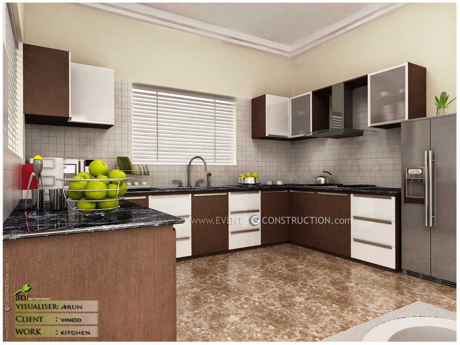 Bon Modern Kitchen Designs Kerala Interior Home Design Rezaganji