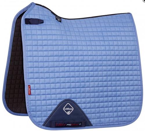Lemieux Prosport Suede Dressage Square Corn Blue Dressage Saddle Pad Saddle Pads Dressage Pad
