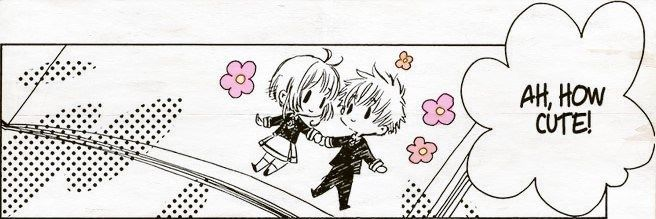 """bururaven: """""""" Ah, how cute! Even in a drawing, you two get along, huh? """" """""""