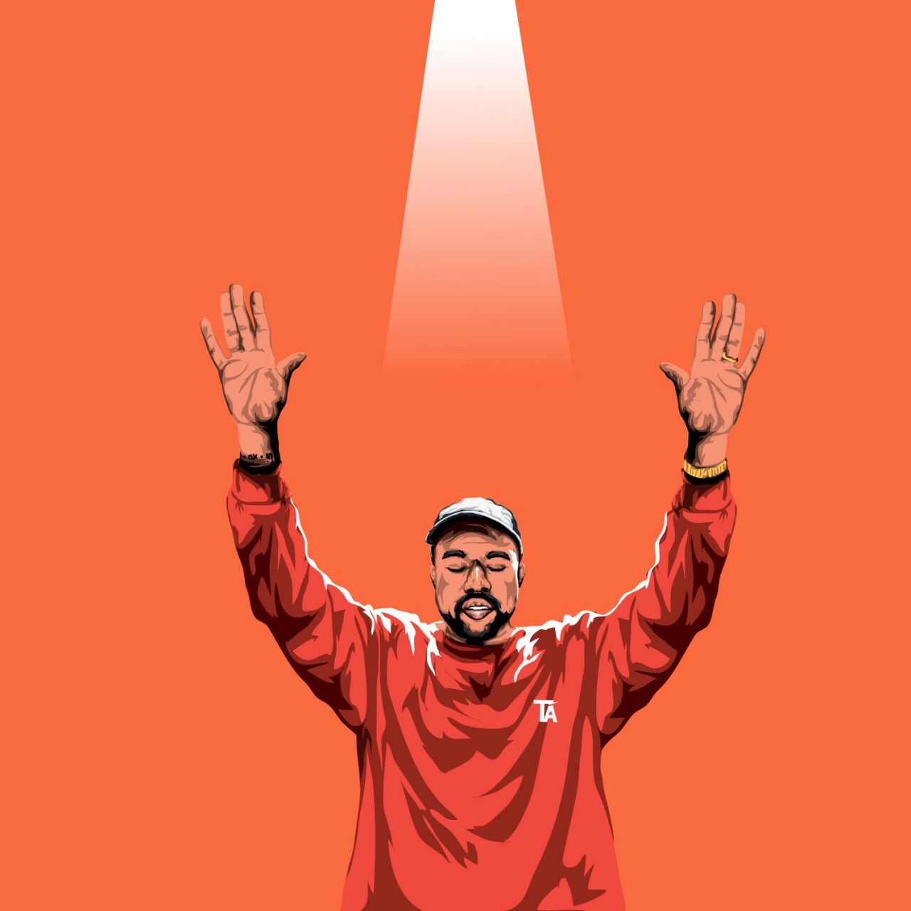 Trillarts Kanye West Wallpaper West Art Kanye West
