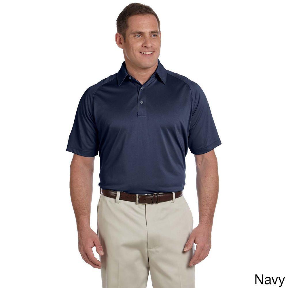 Ashworth Men's Performance Wicking Pique Polo Shirt