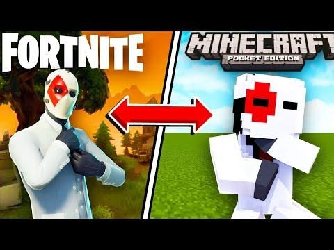 How To Get Fortnite Skins In Minecraft Pocket Edition