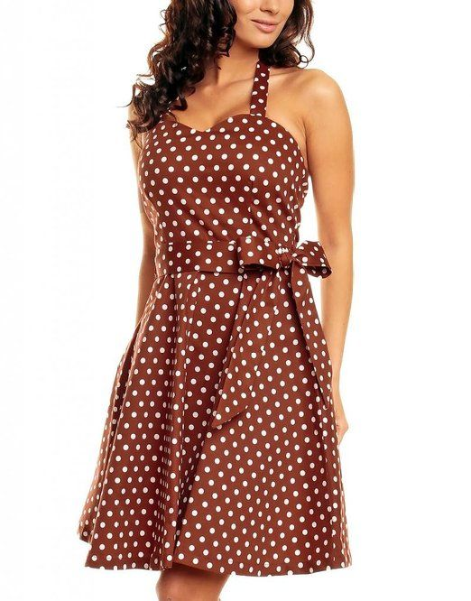 93ddc7715e9 Polka Twist - Robe Style Rockabilly Swing des Années 50 Pin Up à Pois Fête -